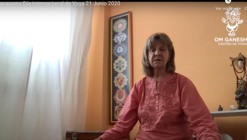 Clase Celebración Día Internacional de Yoga