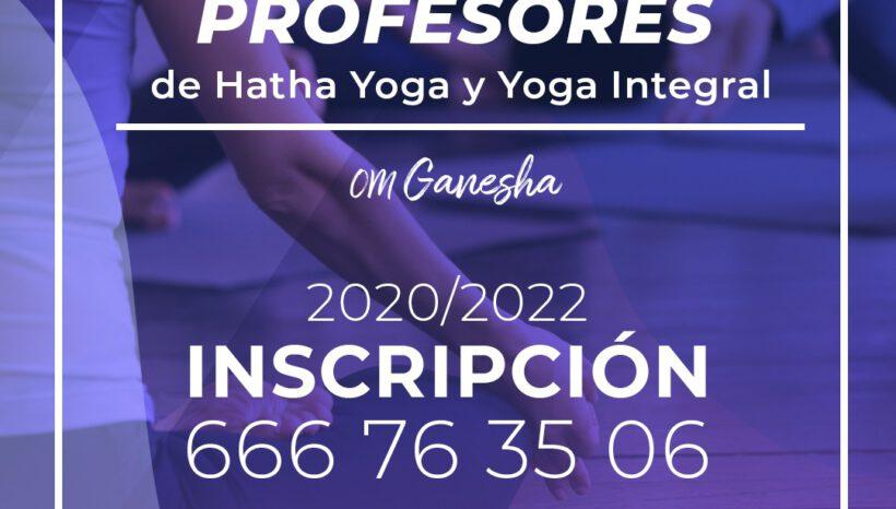 Inscripción Formación de Profesores de Yoga