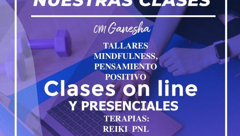 Clases y Cursos online y presencial