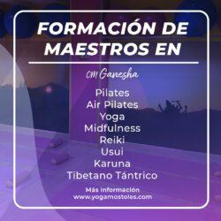 Proximamente: Formaciones Pilates, Yoga,Reiki