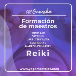 Iniciación de Reiki Usui, Tibetano y Karuna