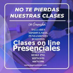 Julio Abierto Clases, Terapias, Cursos
