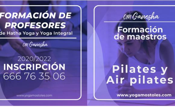 Hazte profesor de Yoga, Pilates ó Air Pilates