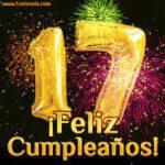 Feliz Cumpleaños 17 Años